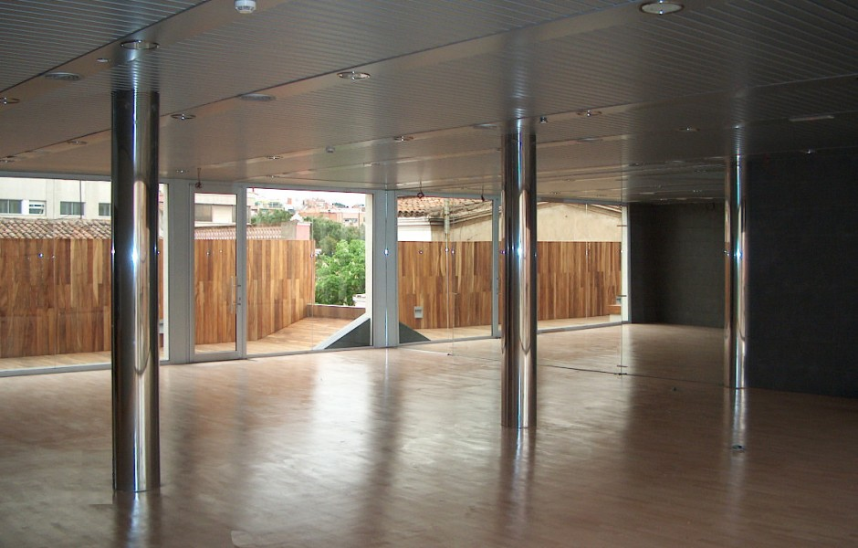 Gimnas granollers ona arquitectes for Gimnasio granollers