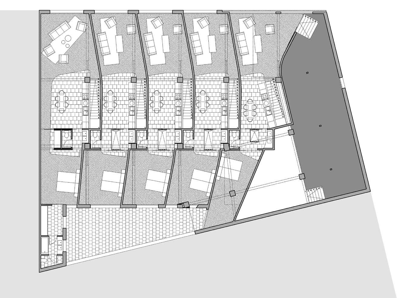 Rehabilitaci per a 5 lofts 2001 ona arquitectes for Oficina habitatge badalona
